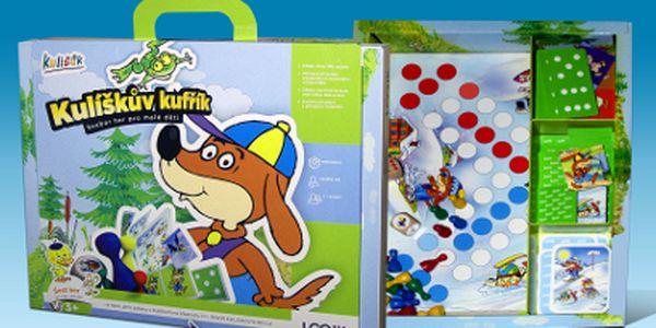 Dětské hry od 199 Kč! 5 her v jednom balení a dvou variantách!