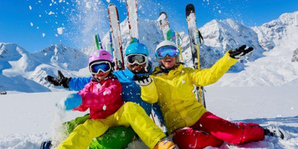 Jednodenní lyžování v Rakousku za 620 Kč!