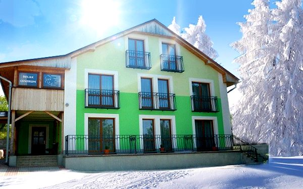 3denní wellness pobyt ve Vile Zelený dom pro dva s polopenzí v Rajeckých Teplicích
