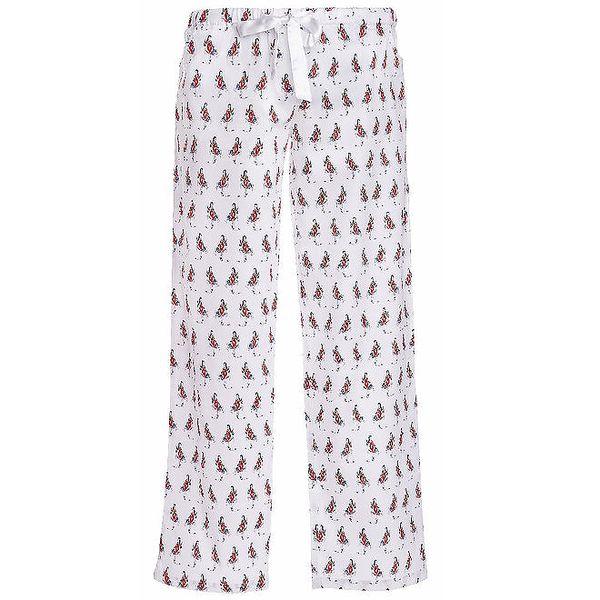 Dámské dlouhé pyžamové kalhoty s potiskem dívky MaybeBlu