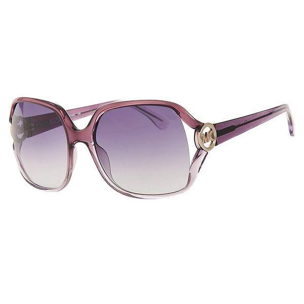 Dámské duhové fialkové brýle Michael Kors s transparentními obroučkami