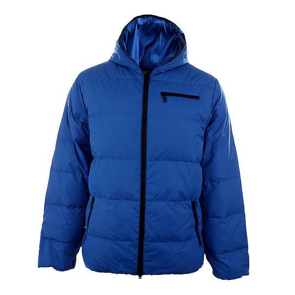 Pánská modrá péřová bunda Authority