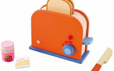 Sevi dřevěný Toaster s příslušenstvím