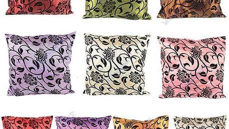 Povlak na polštářek s květinovým motivem - více barev a poštovné ZDARMA! - 33406063