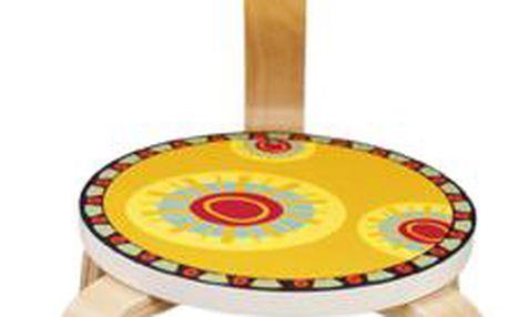 Dětská židlička Žirafa