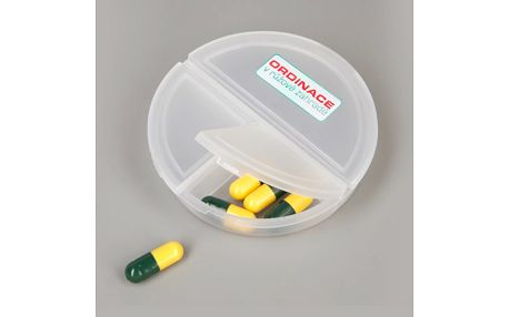 Krabička na léky Ordinace v růžové zahradě 2 s třemi přihrádkami