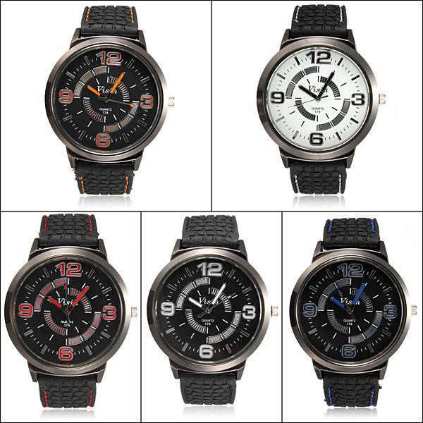 Pánské hodinky se silikonovým páskem - 5 barev a poštovné ZDARMA! - 33406059