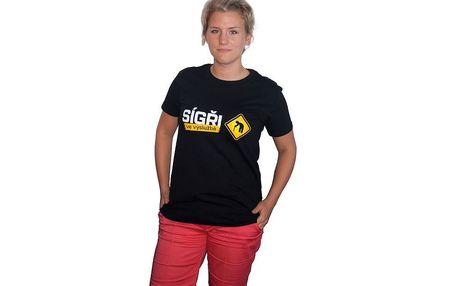 Unisex tričko satiricko-humorného pořadu Sígři ve výslužbě