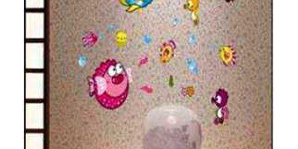 Nálepky na zeď s motivem rybiček a poštovné ZDARMA! - 33706088