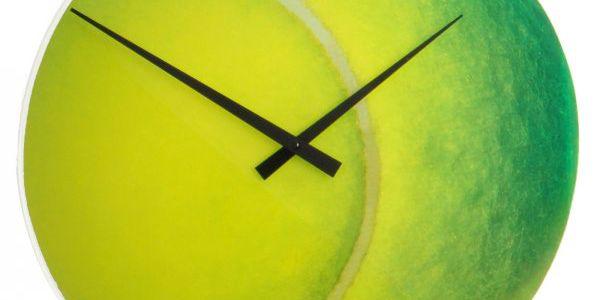 Nástěnné hodiny NEXTIME Roger potěší každého malého i velkého tenistu