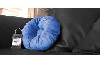 Stylový Hi-Sleep polštářek ve dvou barvách - odpočívejte přímo na hudbě!