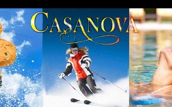 KRUŠNÉ HORY pro DVA v 3* hotelu CASANOVA na 3 dny se snídaní, vstupem do infrasauny a aquaparku Altenberg (jen u varianty 2) Skvělá cena za pobytový balíček, vynikající podmínky pro lyžaře i běžkaře. Horský relax za hubičku!
