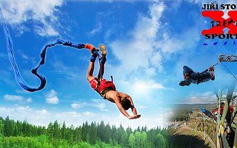 Freestylový Bungee Jumping v Harrachově