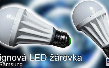 Posviťte si na dlouhé večery s designovou LED žárovkou s čipy Samsung, v nabídce teplé světlo!