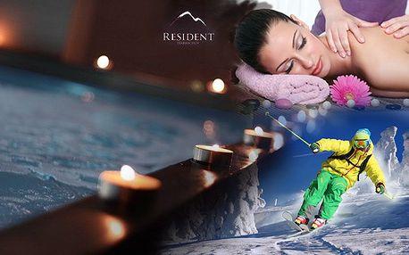 Relax a První lyžování v Residentu Harrachov akce!