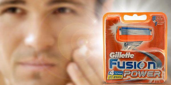 Gillette Fusion náhradní břity 8 ks.