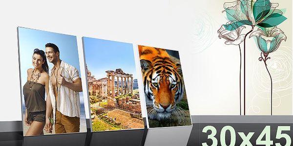 Fotoobraz na platne z vasi fotografie 45 x 30 cm