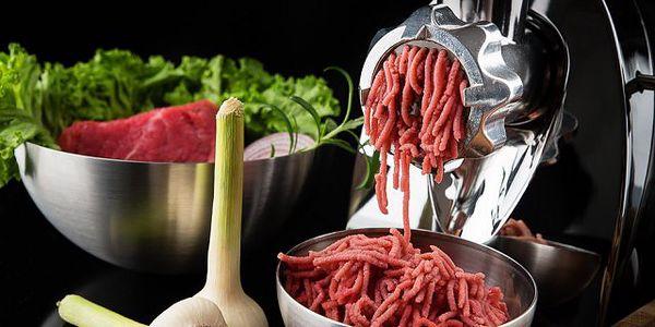 Vysoce kvalitní elektrický mlýnek na maso - ideální pomocník pro všechny milovníky kvalitního masa!