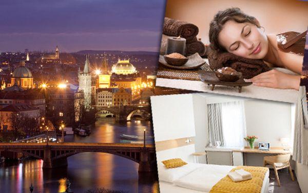 Wellness pobyt pro DVA na 3 dny v Praze s polopenzí a balíčkem plným procedur