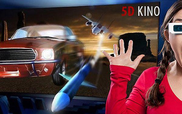 2 vstupenky na interaktivní film do 5D kina Harfa