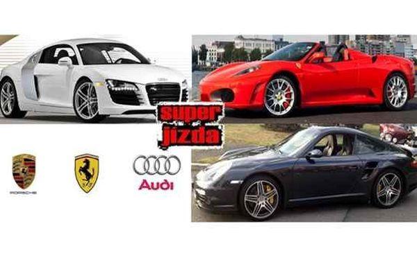 Od 699 Kč za jízdu v Porsche, Audi či Ferrari