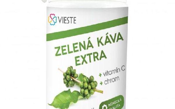 Green coffee extra s chrómem a vitamínem C - 60 kapslí