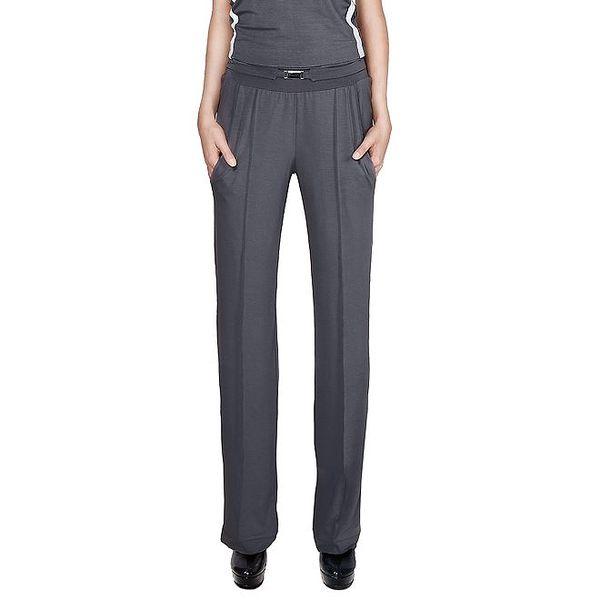 Dámské tmavě šedé kalhoty s puky Yuliya Babich