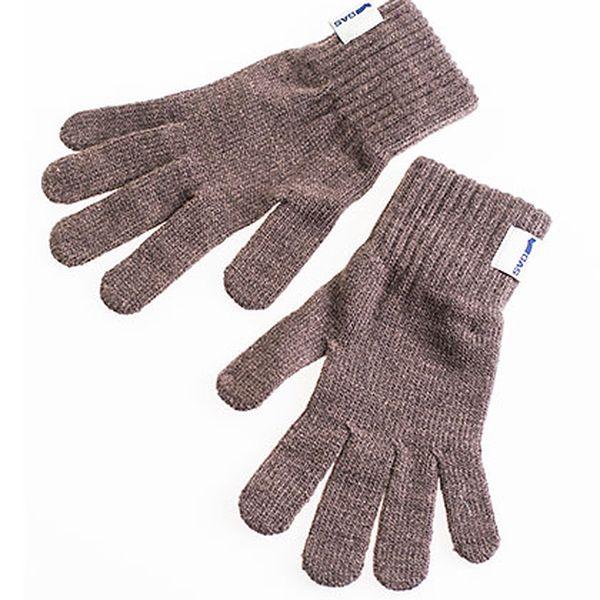 Dámské hnědé rukavice Gas Betsy