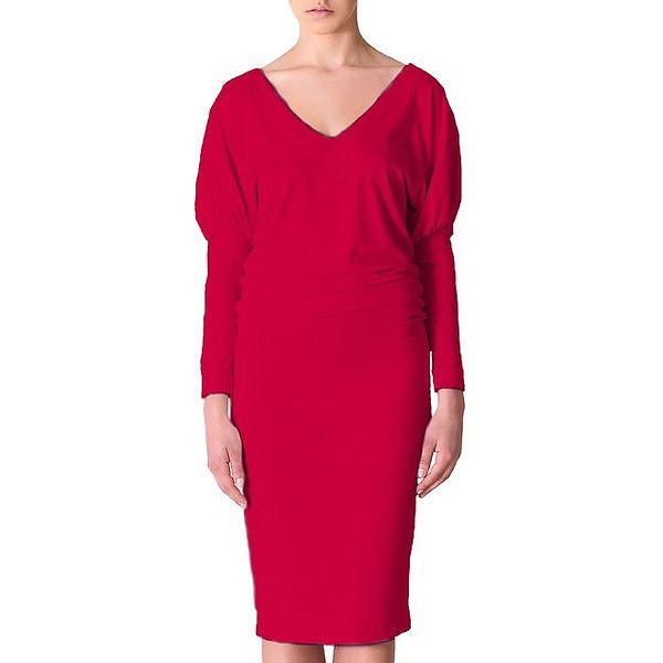 Dámské červené šaty Yuliya Babich