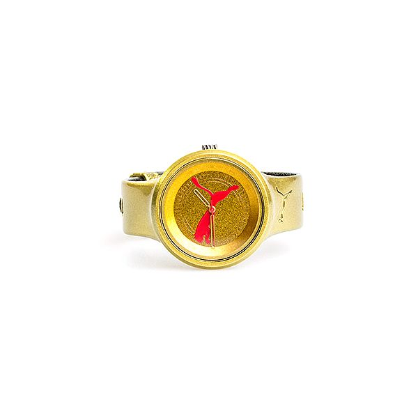 Dámské sportovní žluté hodinky Puma