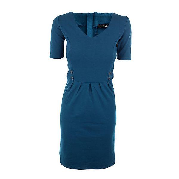 Dámské modré šaty Emoi