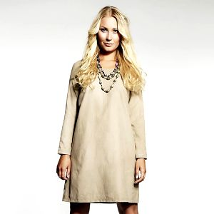 Dámské béžové retro šaty Andrea G Design