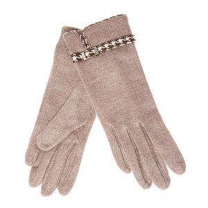 Camel rukavice se sponou