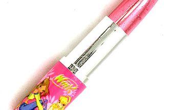 Kuličkové pero Winx Club Kuličkové pero ve tvaru rtěnky Flora&Stella