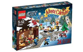 Stavebnice LEGO CITY 60024 Adventní kalendář