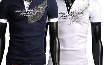 Pánské polo triko s potiskem - 2 barvy a poštovné ZDARMA! - 34506126