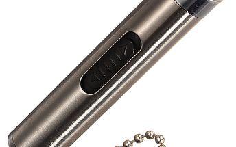 LED svítilna s laserem - klíčenka a poštovné ZDARMA! - 34206149