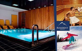 Ski & wellness balíček v Residentu Harrachov s 51%