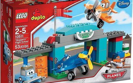 Stavebnice LEGO DUPLO Planes 10511 Skipperova letecká škola