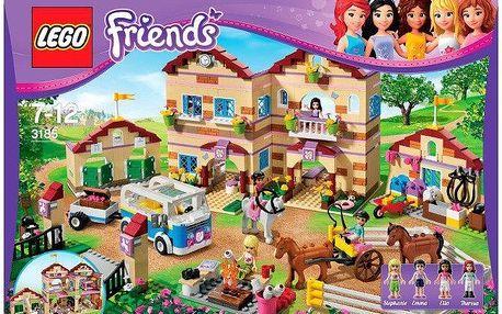 Stavebnice LEGO FRIENDS 3185 Prázdninový jezdecký tábor