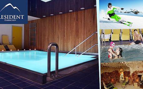 Ski & wellness balíček v Residentu Harrachov akce