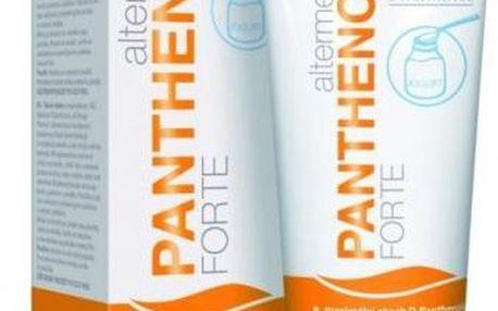 Omega Pharma Panthenol Forte 10 % tělové mléko s jogurtem pro normální až smíšenou pleť 200 ml + Panthenol forte - ochranný a výživný krém 50 ml ZDARMA