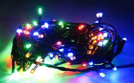 Solární světelný řetěz na Vánoce