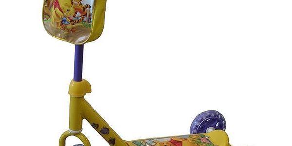 Mondo Macko Pooh kolobežka se třemi kolečky
