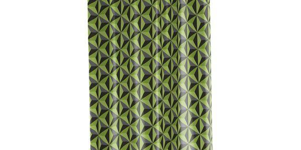 Sprchový závěs Dimension green, 180x200 cm