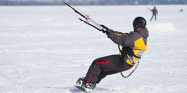 Celodenní kurz snowkitingu pro začátečníky v Krušných horách