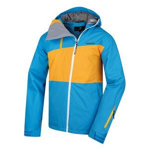 Pánská bunda Alpine Pro Tasgall modro-žlutá