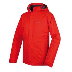 Pánská bunda Alpine Pro Rimal červená