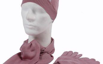 3 dílná sada Adidas Performance - čepice, šála, rukavice