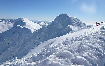 Dovolená v Nízkých Tatrách pro DVA s privátním wellness a lyžováním
